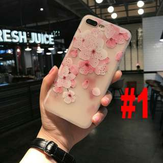 Pastel hana soft case for iphone 6 to x
