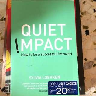 Quiet impact - how to be a successful introvert