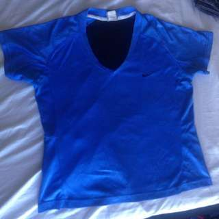 Nike gym blouse/ gym wear