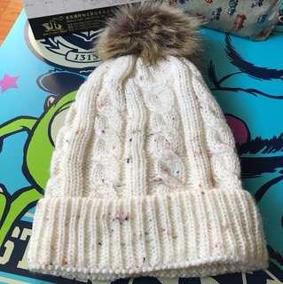 🚚 可愛毛球毛帽