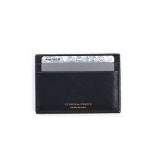 Black iconic card holder 3 slots