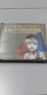 Les miserables musical CD