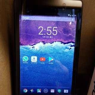 全新 日本進口 華碩Nexus吋平板 Sim咭4G上網 NFC 無綫充電 打機煲劇mytv