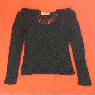 Black Lace Longsleeves