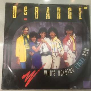 "DeBarge ‎– Who's Holding Donna Now / Be My Lady, 12"" Single Vinyl, Gordy ‎– ZT 40214, 1985, UK"