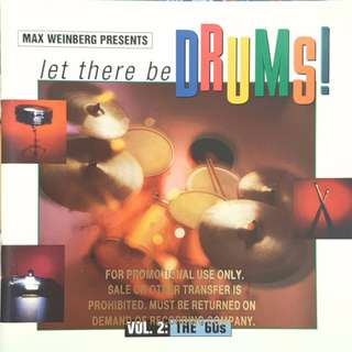 Various – Max Weinberg Presents Let There Be Drums! Vol. 2: The '60s cd