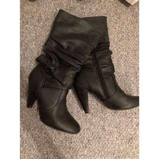 Rinaldi high heels boots size 6