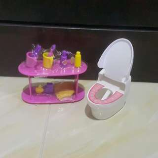 Barbie Toilets