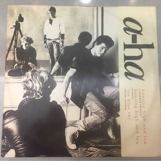 "a-ha ‎– Hunting High And Low, 12"" Single Vinyl, Warner Bros. Records ‎– W6663T, 1986, UK"