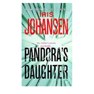 BF: PANDORA'S DAUGHTER by Iris Johansen BRAND NEW  Paperback