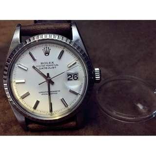 大日曆窗 高清膠鏡 High Definition Plastic Crystal for Rolex 1601 Datejust