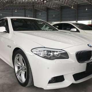 BMW 520i 2.0 turbo M-Sport, UNREG 2013
