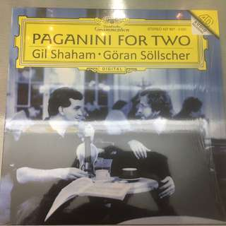 Paganini • Gil Shaham • Göran Söllscher ‎– Paganini For Two, Vinyl LP, Deutsche Grammophon ‎– 480221-9, 2010, Germany, 180gm