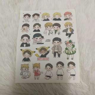 Exo Chen Songru Stickers 2