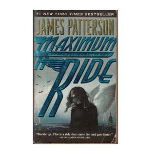 BF: James Patterson - Maximum Rider - The Angel Experiment - Paperback