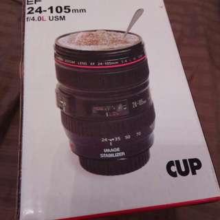 Canon SLR Lens 24-105mm Travel Coffee Mug / Cup