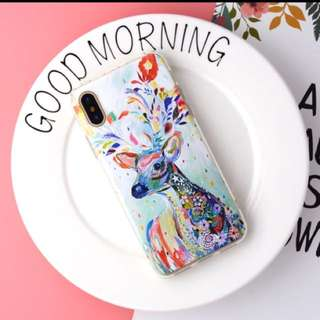 Casing Graceful Flower 3D Print Phone Case for iPhone