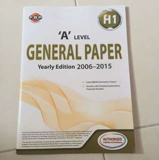 BN A Level GP Yearly Edition 2006-2015