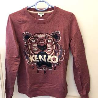 Authentic KENZO sweatshirt size S worn Once only