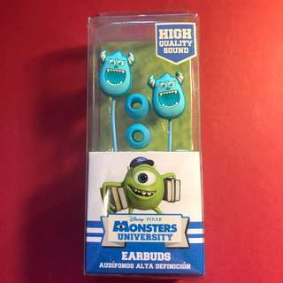 Disney Monsters University Earbuds