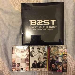 BEAST CD DVD 周邊