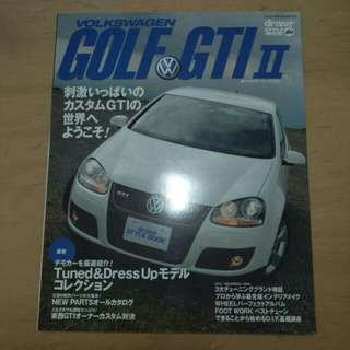 VW Golf GTI MKV Driver Style Book Tuned Parts Japan