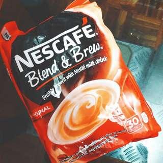 國外直送 nescafe 咖啡沖劑30包裝