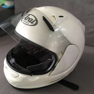 Preloved Authentic Arai Profile full face helmet