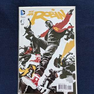 DC New 52 We Are Robins #1