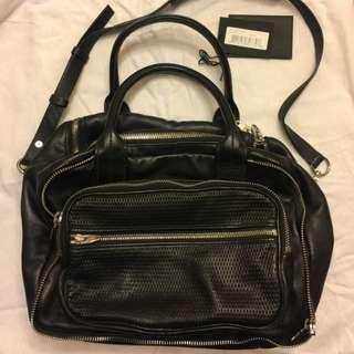 Alexander Wang black shoulder bag
