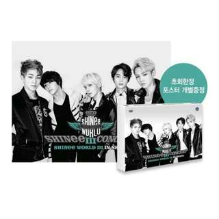 SHINEE-SHINEE WORLD in Seoul CONCERT DVD