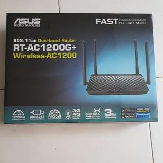 Asus RT-AC1200G+ Dual-band Wireless AC1200 802.11ac Dual-band Router