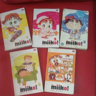 Miiko  no 1,2,3,4,5