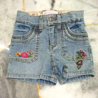 Never wear Xhilaration Girl Jean Shorts Pant 3T