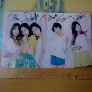 Twice 簽名照