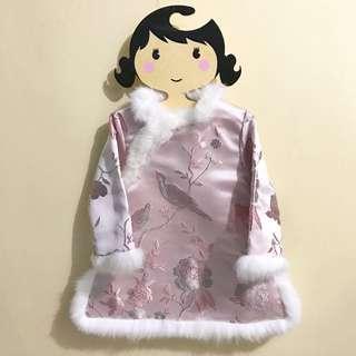 女童新年裙