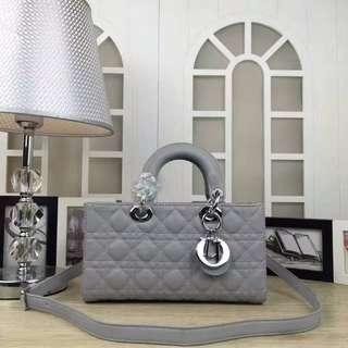 迪奥Dior新款横款Lady手提包 迪奧斜挎包 獨特個性手提包 側背包 dior個性潮流女包