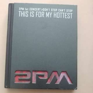 2pm 1st concert photo album