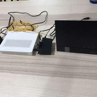 Asus RT-AC56S + Huawei EchoLife HG8240H