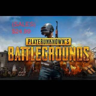 PLAYERUNKNOWNBATTLEGROUND (PUBG)
