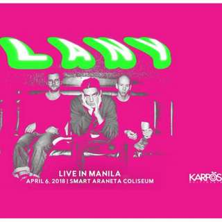 REPRICED VIP TICKETS - LANY DAY 2