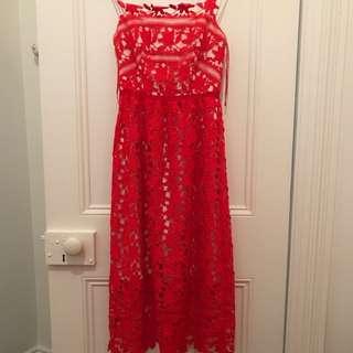 Rodeo Show Lace dress Sz 6