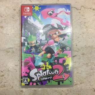 Splatoon 2 (jp version)