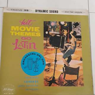 Hit Movie Themes Go Latin Vinyl LP Record