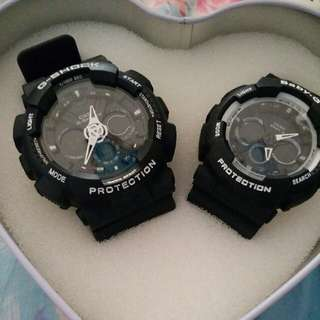 G-SHOCK 情侶