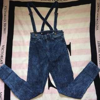 H&M Suspender Pants