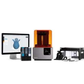 Form 2 SLA 3D printer by Formlabs