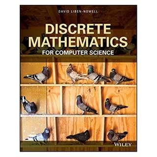 Discrete Mathematics for Computer Science BY  David Liben-Nowell