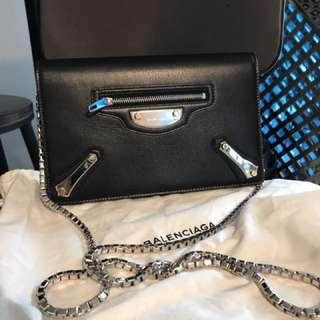 99%new balenciaga 巴黎世家wallet on chain woc 己放旺角樂星寄賣