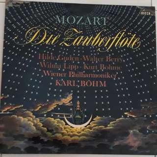 Mozart Die Zauberflote Vinyl LP Record With 王立达 Signature